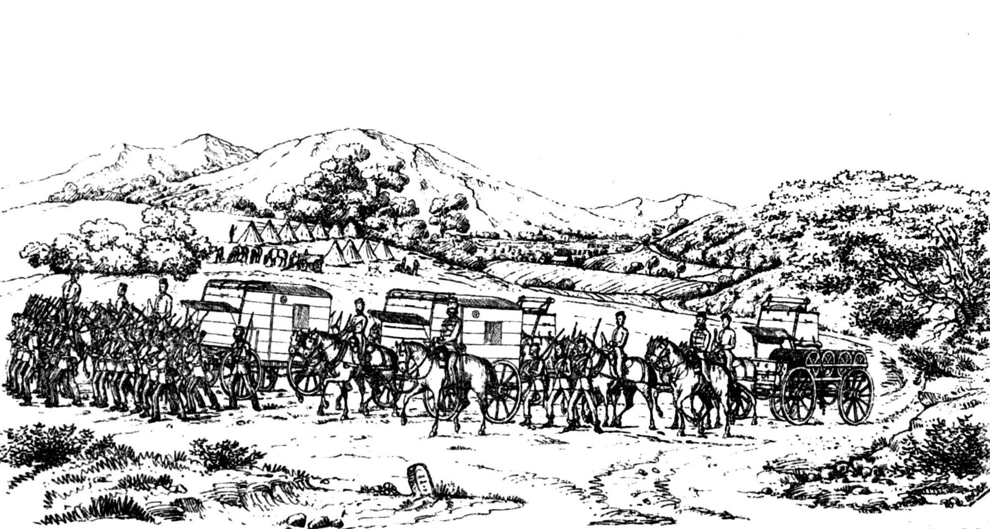 Distant Writing Telegraph at War 1854 68