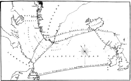Atlantic Cable Plans 1860