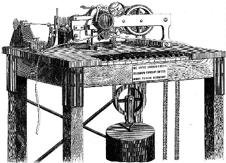 Hughes Printer 1863