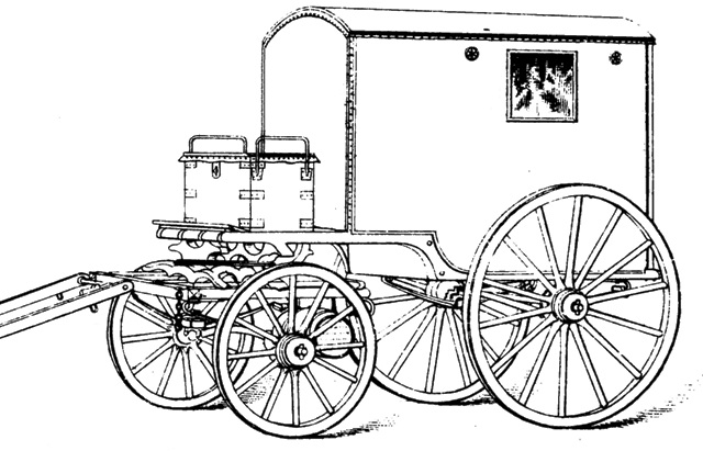 Military Telegraph Waggon 1868